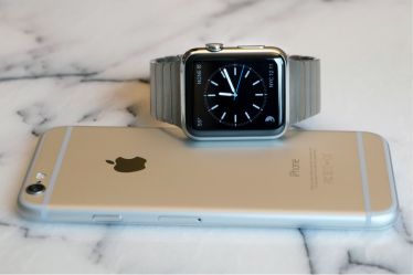 Apple Watch with Apple IPhone